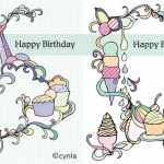 cupcakeNicecreamCards Cynla