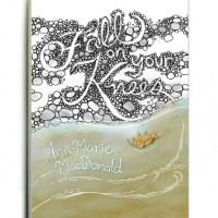 Fall on your knees Book Cover Hand Lettering - Cynla