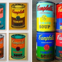 Andy Warhols Campbell Soup Cans : Posted by Cynla