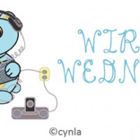 Wireless Wednesdays Unplug Bear by Cynla