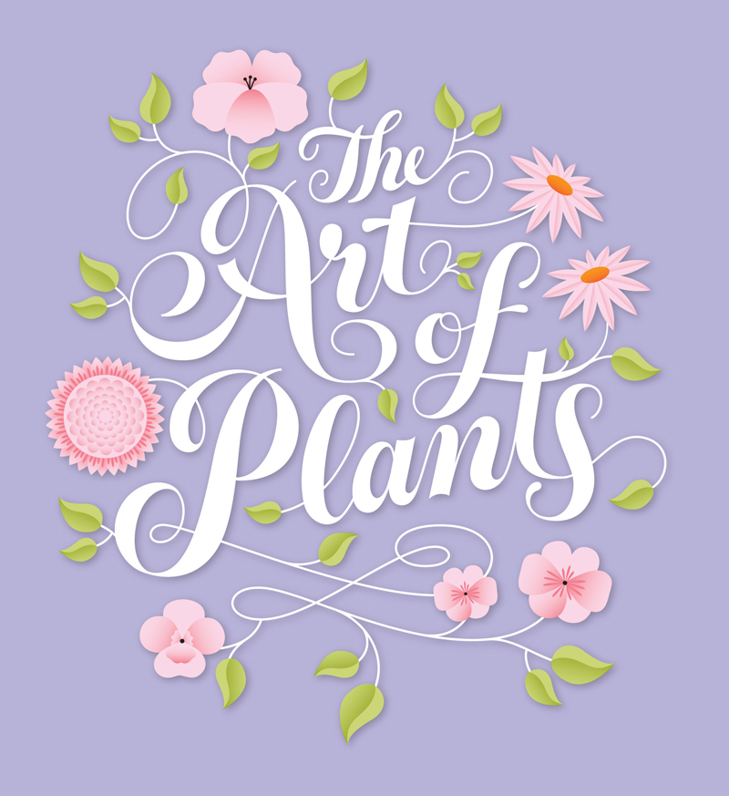 Art of plants by Jessica Hische | posted by cynla