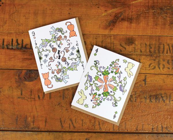Cynla Playing Card Cards