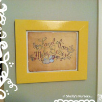 Shellys Nursery Print by cynla