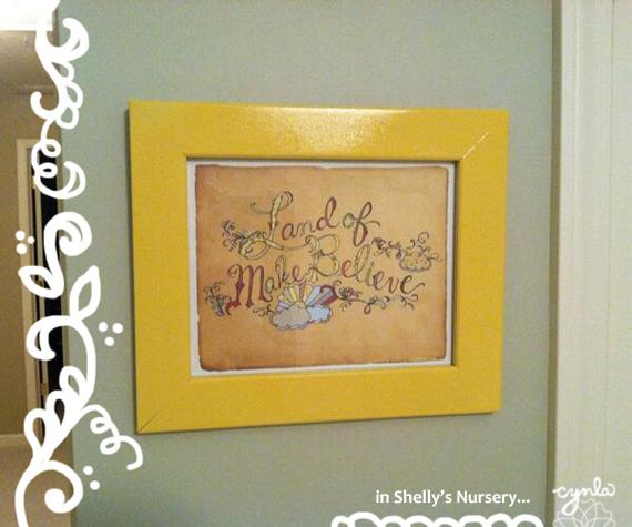 Shellys Nursery Print by cynla