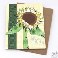 sunflowerCardCynla