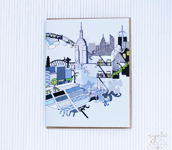 Cynla NYC Card
