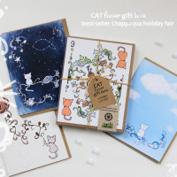 Cynla catLover gift box card set