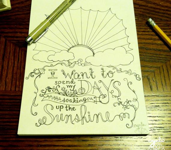 sunshine by Cynla funaday project