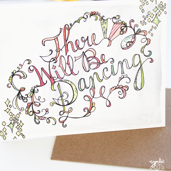 cynla There Will Be Dancing Card