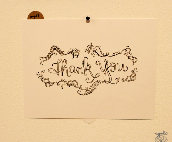 thank You by Cindy LaColla