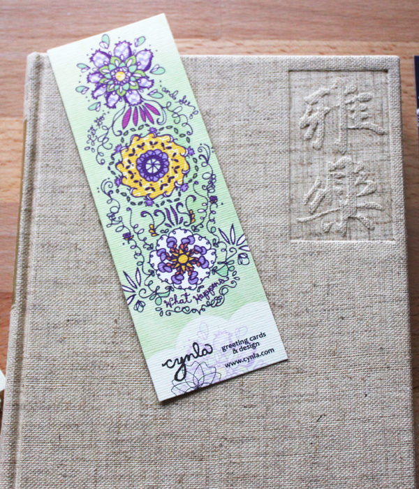bookmarks with every order - www.cynla.etsy.com
