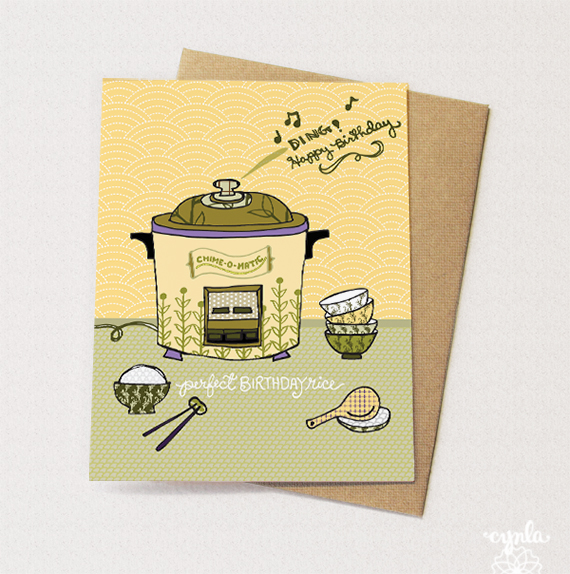 Yes! A Rice Cooker Card! by cynla.
