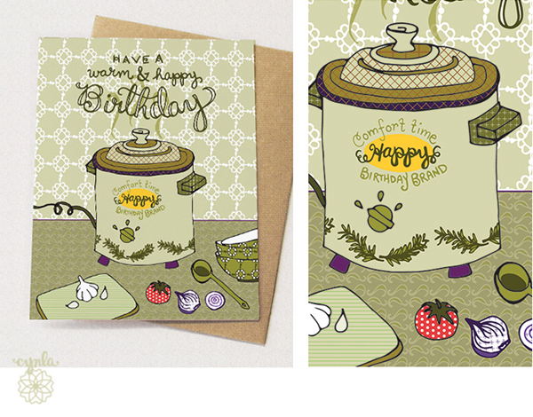 Yes a crockpot card. By CYNLA