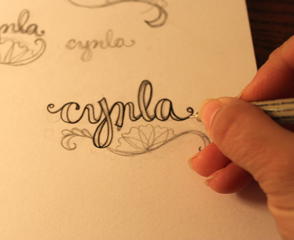 cynla Logo sketch - see the updated logo at cynla.com