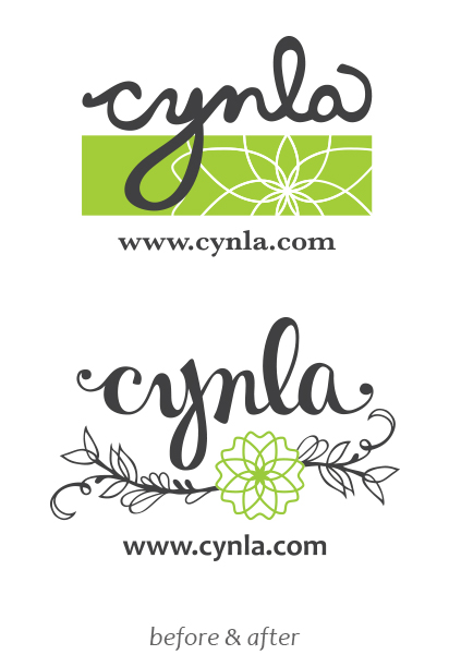 logo Refreshed - Cynla greeting cards & design