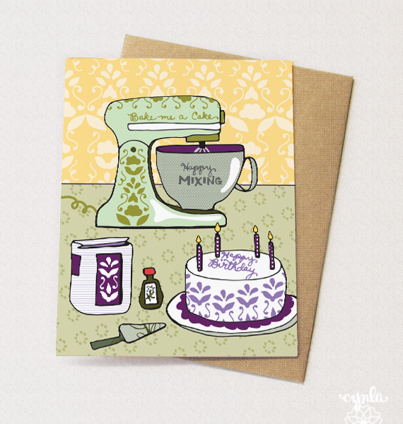 Mixer Card by Cindy LaColla - cynla