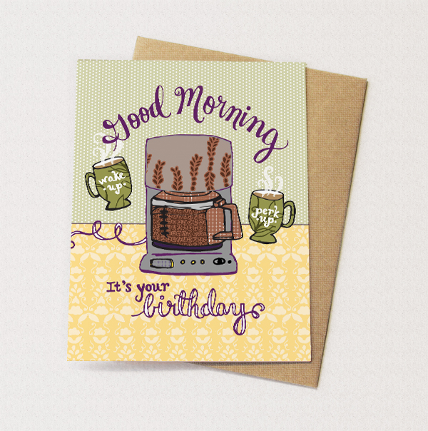 BD30 Coffeepot Card by Cynla