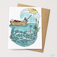 Fathers Day Boat Card