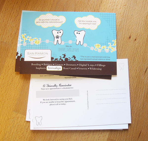 Dental Postcards by Cynla